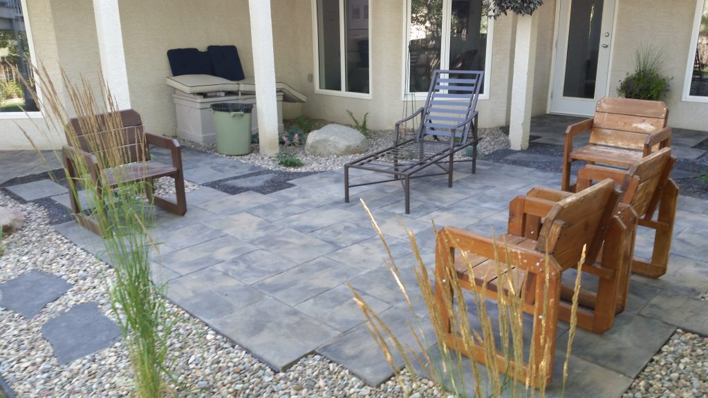 Backyard patio and remodel