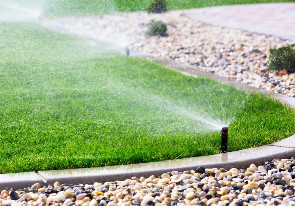 Underground Sprinkler Irrigation